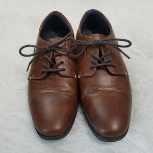 American Eagle Brown Lace Up Loafers, Sz Y4.5